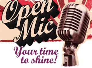 Free Topic/Open Mic Wednesday!