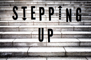"""Will You  Be """"Stepping Up""""? #ShortPosts"""